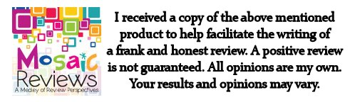I have received a copy of the above product to help facilitate a frank and honest review. A positive review is not guaranteed. All opinions are my own. Your results and opinions may vary.